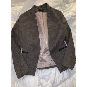 H&M Brown, Tan & Black Blazer